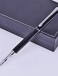 Regalo personalizzato Affari Style Black Metal inciso Ink Pen