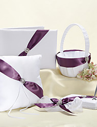 Splendor Wedding Collection set con Viola Sash (5 Pezzi)