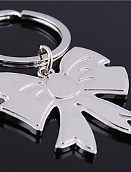 cheap -Personalized Engraved Gift Bowknot Shaped Keychain