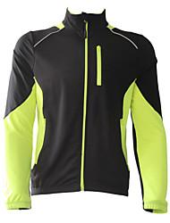 economico -Jaggad Giacca da ciclismo Per uomo Manica lunga Bicicletta Giacche in pile / Fleece Maglietta/Maglia Giacca di pelle Top Asciugatura