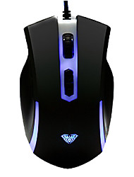 baratos -DPI instantâneo Switching Multi-chaves Super Dazzle LED Gaming Wired mouse PS / 2