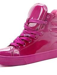 economico -Patent Leather Women Fashion Shoes colore fluorescente Sneakers