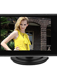 3.5 Inch TFT LCD Adjustable Monitor For CCTV Camera with AV RCA video Sound Input