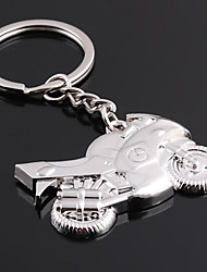cheap -Personalized Engraved Gift Motorcycle Shaped Keychain
