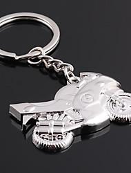 Недорогие -Персонализированные гравированные подарков мотоциклов Shaped брелок