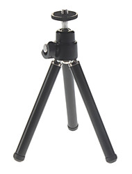 cheap -Aluminium Mini Tripod with Flexible Metal head for Digital Cameras