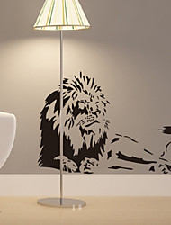 cheap -Animal Lions Home Decal Wall Stickers