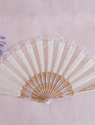 cheap -Delicate Lacelike Hand Fan (More Colors) Wedding Favors Beautiful
