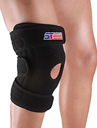 Knee Brace Sports Support Eases pain Wearproof Skiing Climbing Basketball Baseball Camping & Hiking Running Black