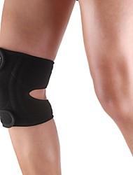 abordables -El silicón se divierte la rodilla Patella 4 resorte Ayuda Cuello Tapa Wrap Protector Pad - tamaño libre