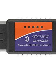 OBDII Bluetooth Car diagnostica cavo - nero + blu + arancione (12V DC)