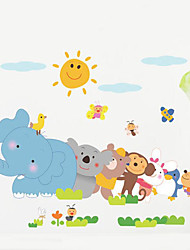 Wall Stickers Animal Children Room Bedroom Background Wall Decoration Waterproof Poster