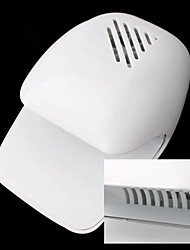 Electric Wind Automatic Pressure Activates Nail Dryer White Tip Fan(Powered by 2 AA Battery)