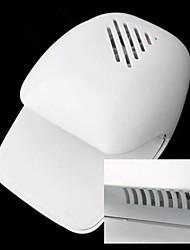 Электрический Ветер Автоматическое давление Активизирует Сушилка для ногтей белым кончиком вентилятор (приведенный в 2 АА батареи)