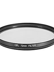 CPL Filtre pour appareil photo (72mm)