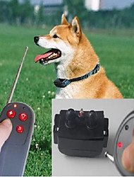 Bark Collar Dog Training Collars Training Anti Bark Remote Control Electronic/Electric Shock/Vibration Solid Nylon