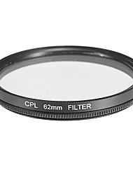 CPL Filtre pour appareil photo (62mm)