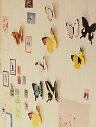 vividamente adesivi progettazione farfalla (15 pc, colore casuale)