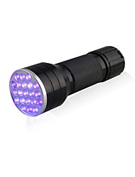 cheap -D12UV-1-0-2 LED Flashlights / Torch Black Light Flashlights/Torch Handheld Flashlights/Torch LED lm 1 Mode 5mm Lamp Waterproof