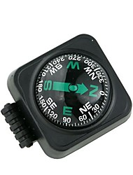 cheap -Large Car Compass with Surface Mount - Black