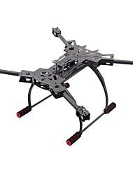 General Accessories HJ H4 Landing Legs / Parts Accessories Black Carbon