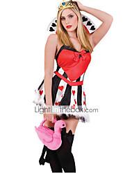 povoljno -Movie & TV Theme Costumes Cosplay Nošnje Kostim za party Žene Halloween Karneval Festival / Praznik Halloween kostime Crvena Kolaž