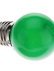 0.5W E26/E27 Круглые LED лампы G45 7 светодиоды Dip LED 50lm Зеленый Декоративная AC 220-240