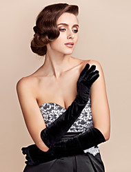 cheap -Cotton Elbow Length Glove Party/ Evening Gloves Classical Feminine Style
