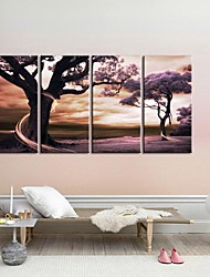 cheap -Stretched Canvas Art  The Tree of Fantasy Set of 4
