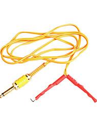 cheap -Yellow Silica Gel Clip Cord