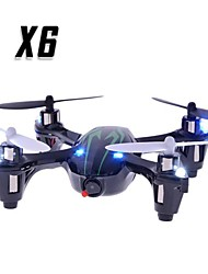 economico -RC Drone X6 4 Canali 6 Asse 2.4G Con videocamera Quadricottero Rc Quadricottero Rc Telecomando A Distanza