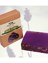 Недорогие -Tianxuan эфирное масло лаванды Мыло Увлажняющий Анти-акне 100г