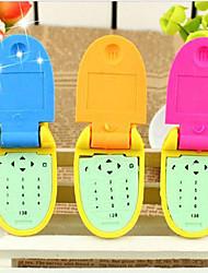 Bella forma del cellulare di disegno di gomma (colore casuale)