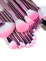 22pcs Makeup Brushes set Professional Pink Handle Powder/Concealer/Blush brush Shadow/Eyeliner/Lip/Brow/Lashes Brush High Quality Makeup Kit