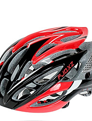 cheap -FJQXZ Ultralight 26 Vents PC+EPS Red Cycling Helmet