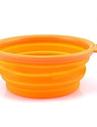 cheap -Silicone Folding  Bowl for Pets Dogs