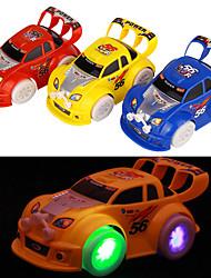 Недорогие -Электрический спортивный автомобиль с легкими и музыка Развивающие игрушки (случайный цвет)