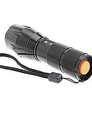Недорогие -Trustfire 5 Светодиодные фонари Светодиодная лампа 1000lm 5 Режим освещения Масштабируемые / Нескользящий захват / Перезаряжаемый