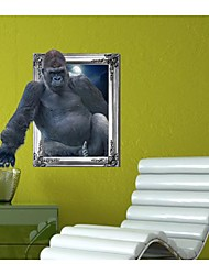 3D The Orangutans Wall Stickers Wall Decals