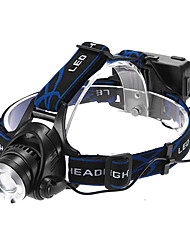 cheap Head lamps-Headlamps LED 1200lm 3 Mode Zoomable / Adjustable Focus / Rechargeable Multifunction