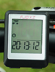 cheap -Bike Computer,FJQXZ Waterproof Wired LCD Black Bicycle Speedometer/Stopwatch