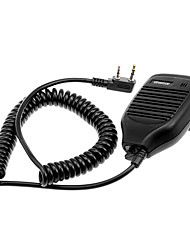 Mikrofon til Walkie Talkie KMC-21 m / Clip - Black (2.5mm / 3.5mm Jack)