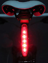 cheap -Rear Bike Light / Safety Light / Tail Light LED Bike Light Cycling LED Light AAA Battery Cycling / Bike - MOON / IPX-4