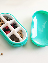 caso pílula individualizado e encantador portátil (cor aleatória)