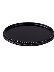 ! 72mm Slim Fader Variable ND Filter Neutral Density Adjustable ND2 to ND400 014104 Free shipping