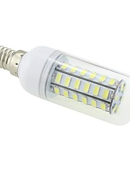 3W E14 LED Corn Lights T 48 SMD 5730 250-300lm Cold White 5500~6500K AC 220-240V