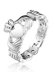 cheap -Brand Designer Ladies Claddagh Stainless Steel Skull Rings for Women 2014 New