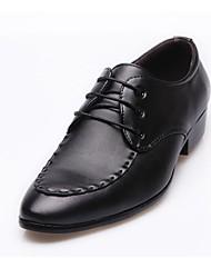 Men's  Leatherette Upper Ballroom Modern Dance Shoes