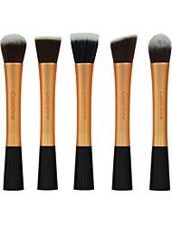 cheap -5pcs Makeup Brushes Professional Makeup Brush Set Synthetic Hair Synthetic / Limits Bacteria Metal / Plastic