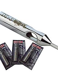 baratos -8 milímetros * tatuagem aço 50mmNSST-5D inoxidável 316L Dicas